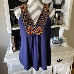 Beaded Tank Too Blouse